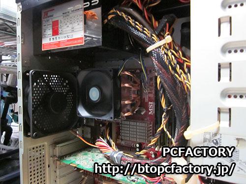 自作パソコン修理