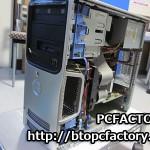 DELL DIMENSION E521 ハードディスク交換修理