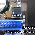 マザーボード BIOS復旧 BIOSアップデート失敗