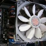 パソコン修理 坂東市 CPUファン清掃