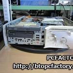 デルパソコン 5100C 落雷修理で電源が入らない