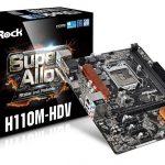 ASRock H110M-HDV BIOS ver 7.60 アップデートでPOSTできない?